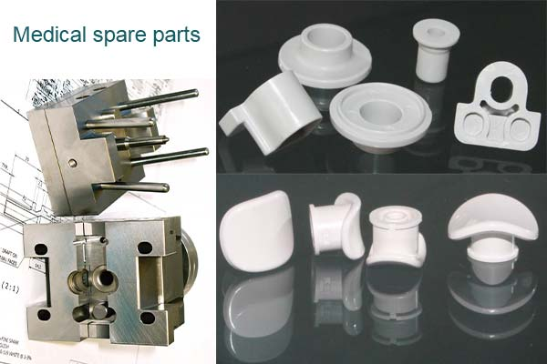 The application of plastic injection molded products to Package