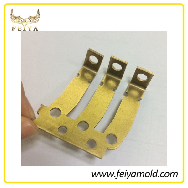 Sheet Metal Stamping Part , Brass Terminal