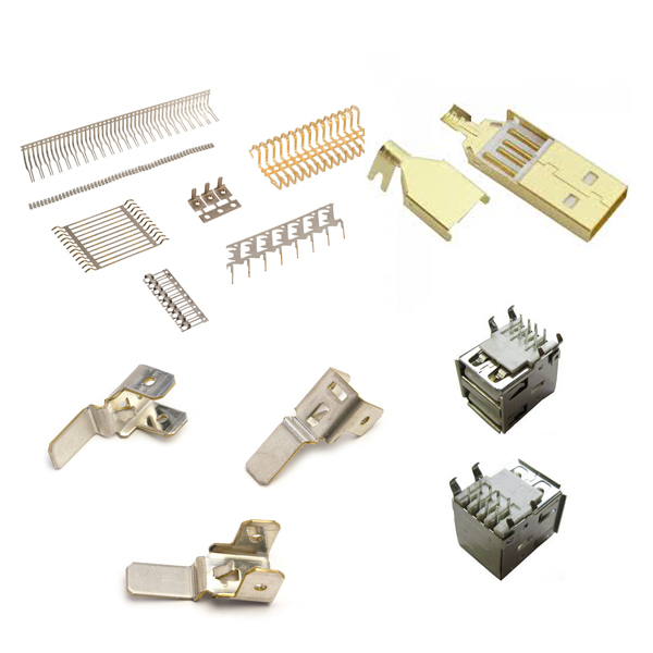 Metal Stamping Stainless Steel Terminals Computer Industry